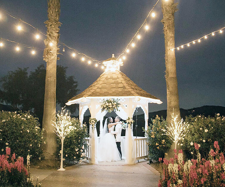Indian Hills By Wedgewood Weddings - Perfect for Evening Weddings in California