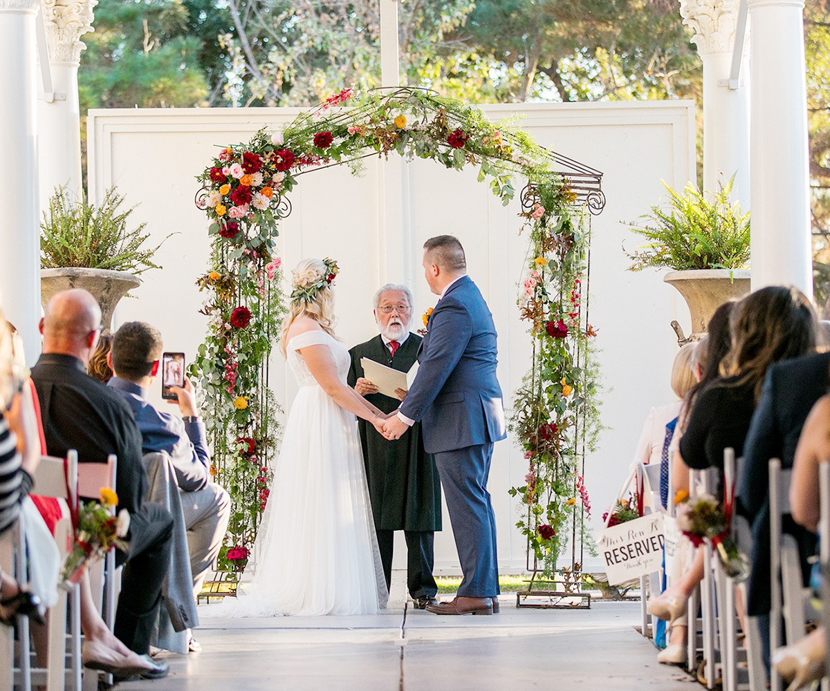 One of the Bay Area's most striking wedding venues: winner of the coveted 'Best of the Bay' award - Jefferson St Mansion by Wedgewood Weddings