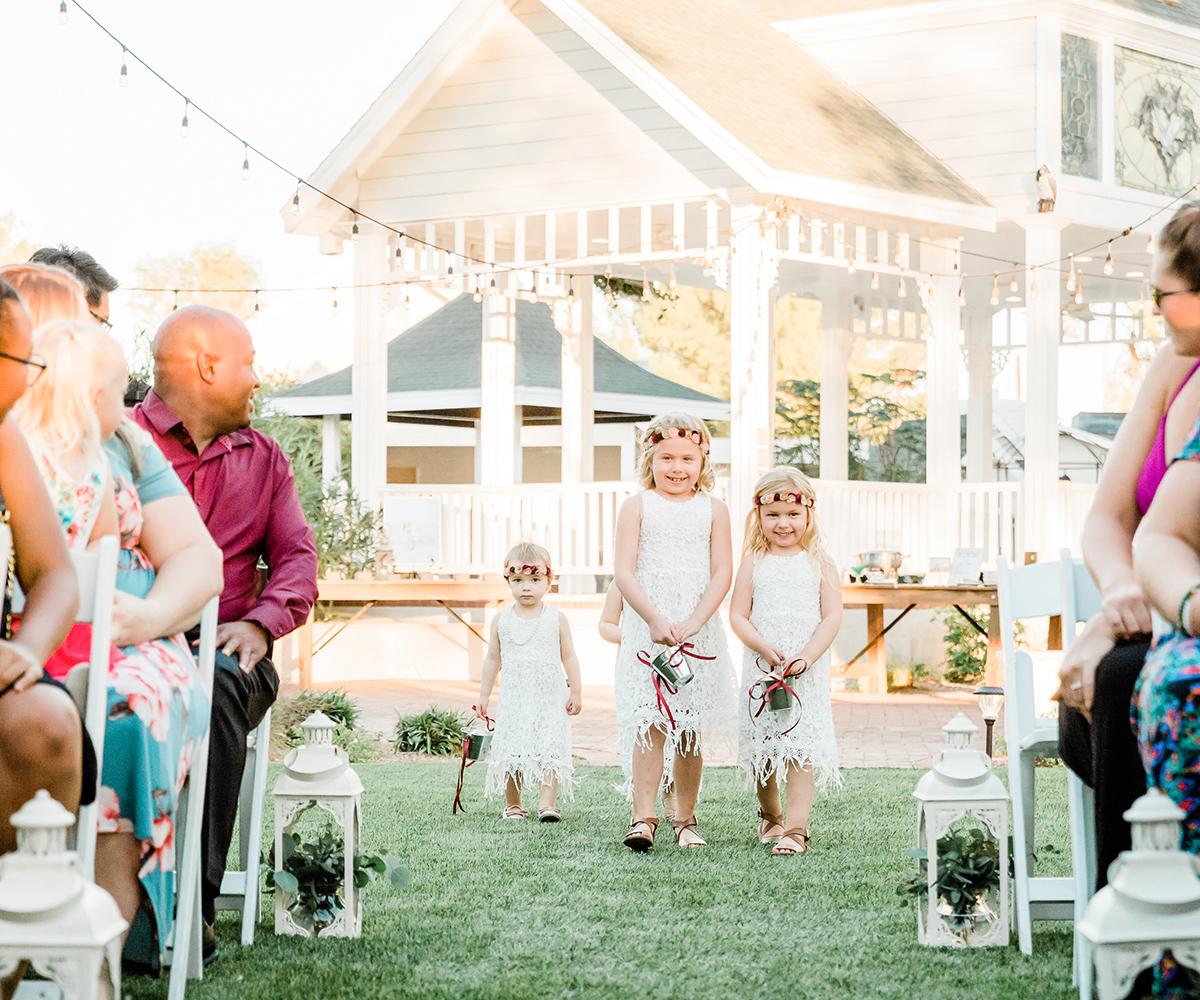 Sweet Flower Girls | Lindsay Grove by Wedgewood Weddings