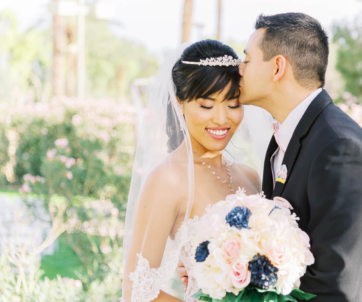 Romantic Princess Wedding at Ocotillo Oasis in Phoenix, AZ