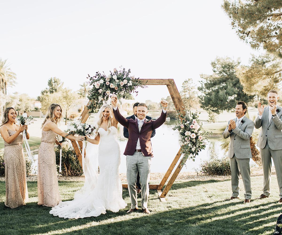 Lakeside Wedding at Ocotillo Oasis in Chandler, AZ