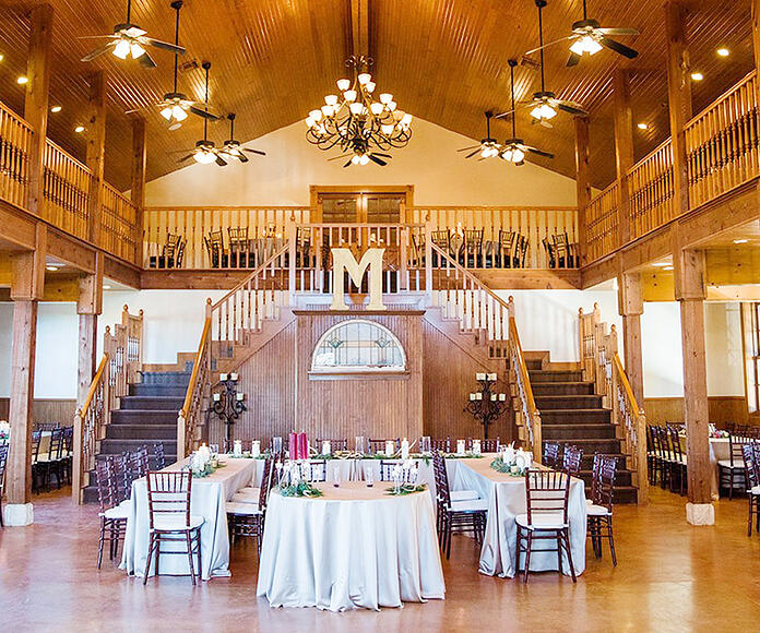 Grande Hall at Hofmann Ranch by Wedgewood Weddings