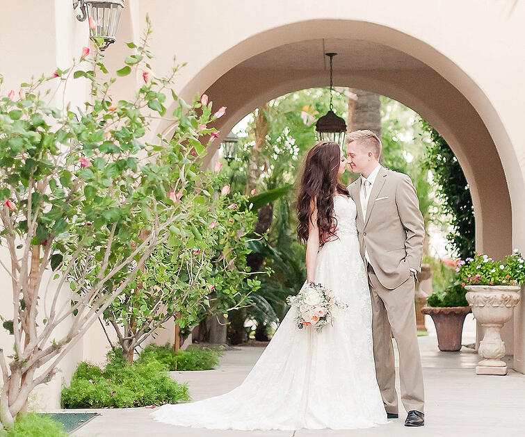The Secret Garden - your new favorite wedding location. How long will it be Phoenix's best kept secret?