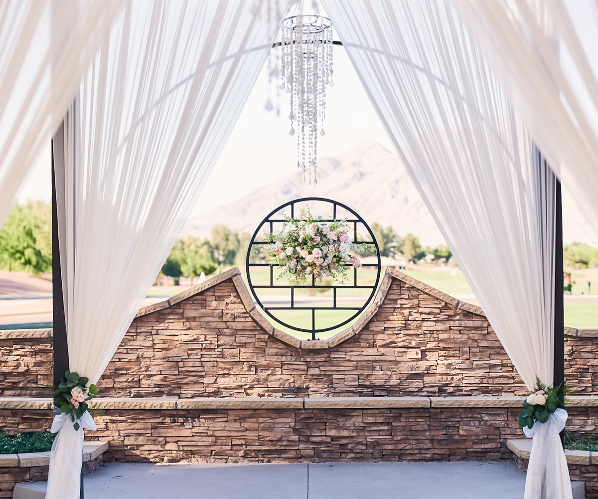 The Altar on the Terrace is one of the more popular ceremonies options