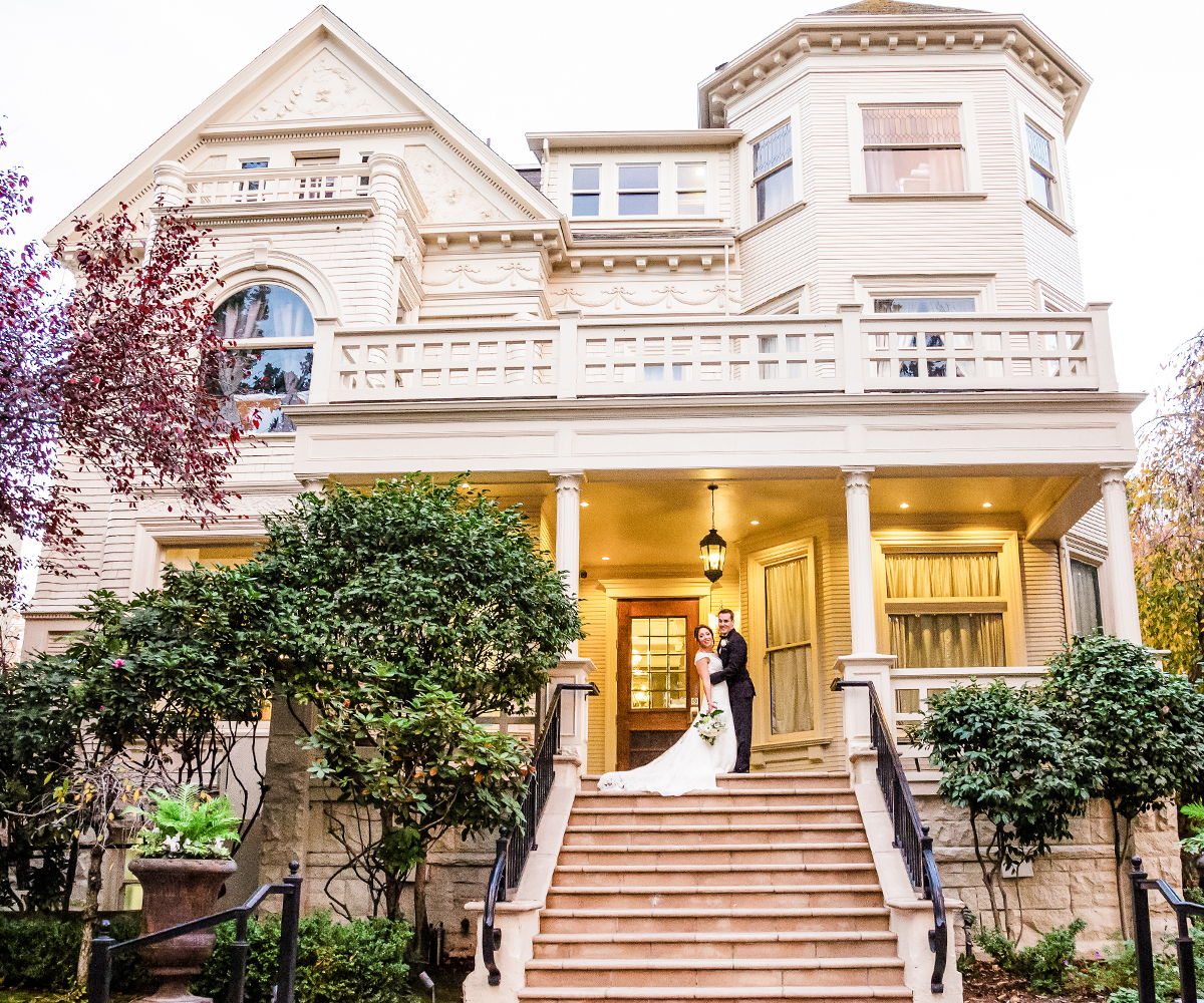 Sterling Hotel by Wedgewood Weddings: front Stairs
