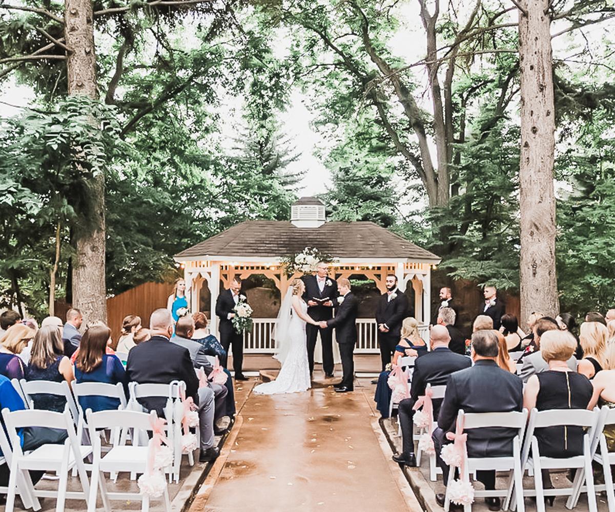 Tapestry House by Wedgewood Weddings Outdoor Gazebo