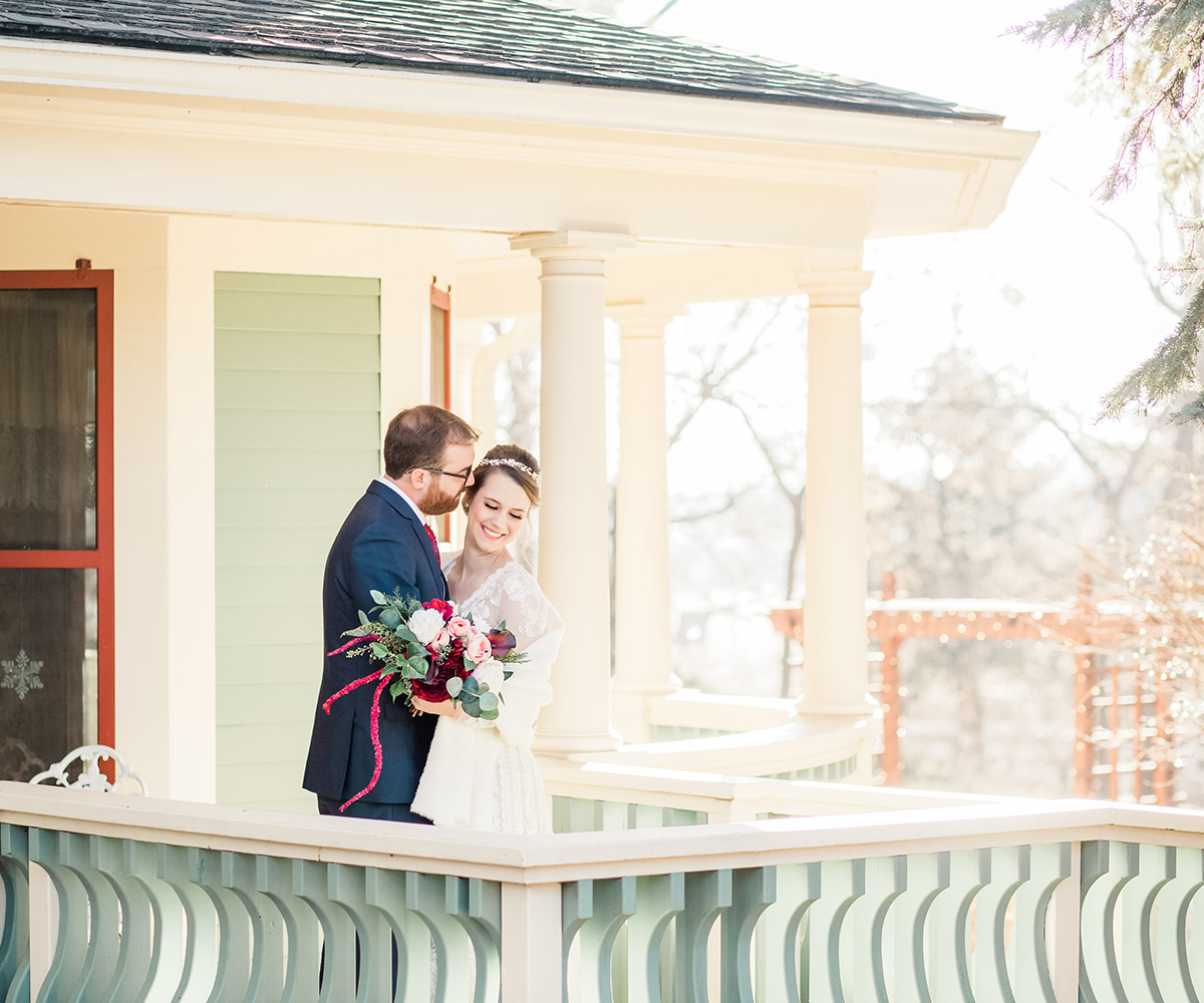 Tapestry House by Wedgewood Weddings Couple Embracing