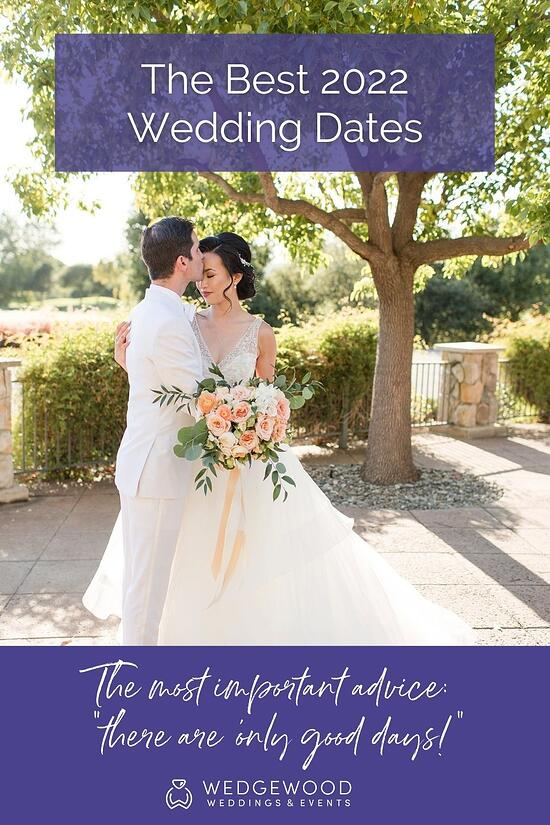 Engaged? Now is the perfect time to plan a 2022 wedding. We make it easy and fun! Choose with confidence thanks to this expertly curated guide to the best and most creative wedding dates of 2022! Let's go through some of the best wedding dates of 2022 based on holidays, numerology, astrology, lucky dates, and more.