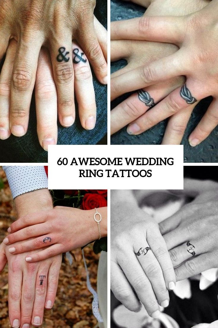 60 awesome wedding ring tattoos - WeddingOMania