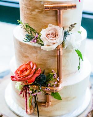 Industrial Cake - Galway Downs - Wedgewood Weddings