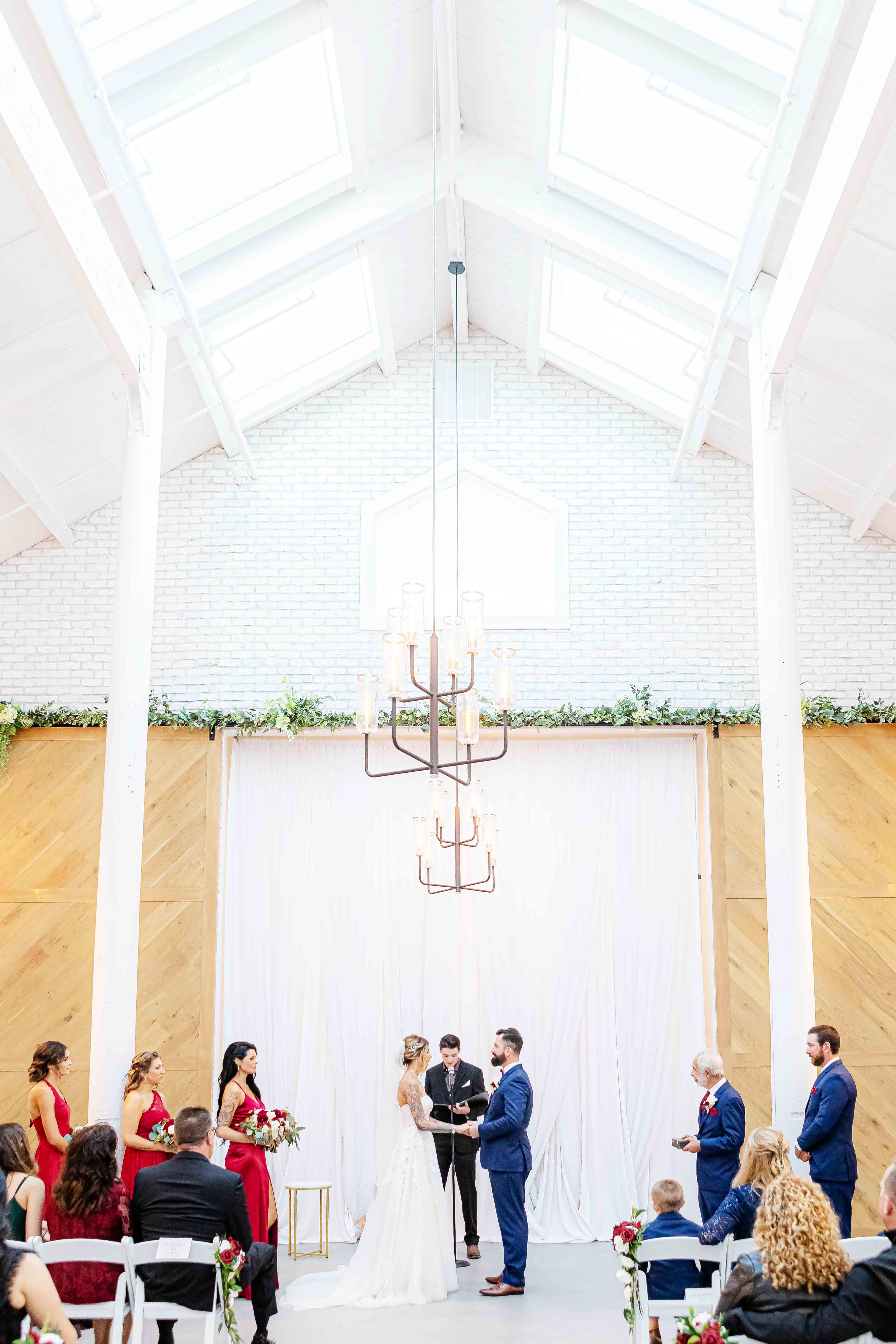 A Bright & Bold Wedding Ceremony - Aaron & Lynnea's Wedding at The Carlsbad Windmill