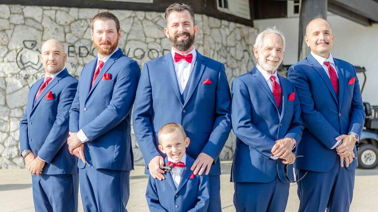 The Groomsmen - Aaron & Lynnea's Wedding at The Carlsbad Windmill