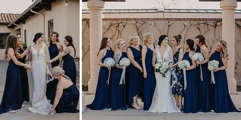 Bridesmaids - Aliso Viejo - Orange County - Wedegwood Weddings