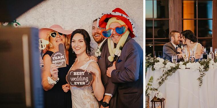 Photo booth - Aliso Viejo - Orange County - Wedgewood Weddings