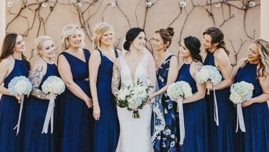 Stunning Bridal Party at Aliso Viejo by Wedgewood Weddings