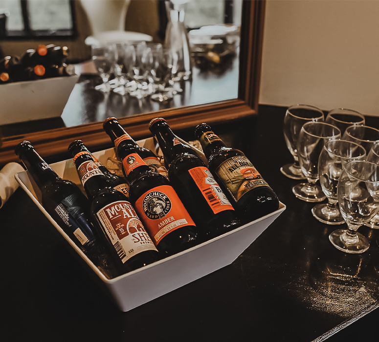 Craft Beer for the Groomsmen at Granite Rose