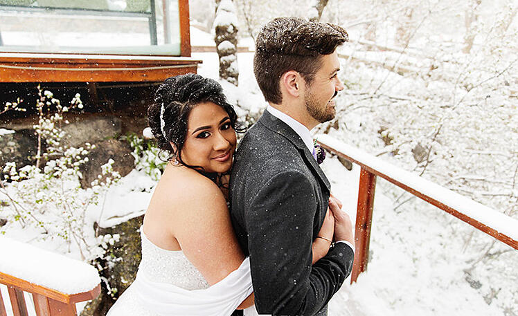 Azarel and Justin's Winter Wedding in Colorado-1