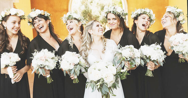 BEAUTIFUL WHITE FLORAL CROWNS BY FLOWER DIVAS