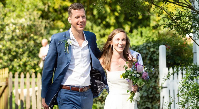 Backyard Wedding in Charlotteville - Photo by Sarah Cramer Shields