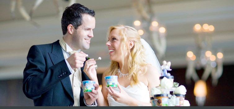 Ben and Jerrys wedding ideas if you love ice cream...