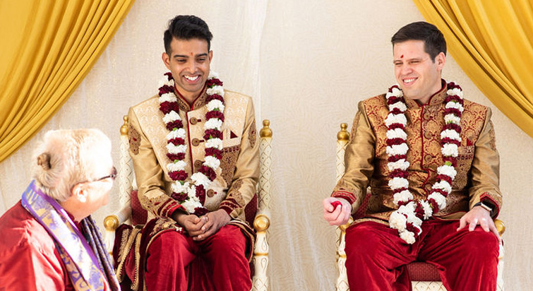 Best of Luck to Zach and Karthik - Jefferson Street Mansion by Wedgewood Weddings