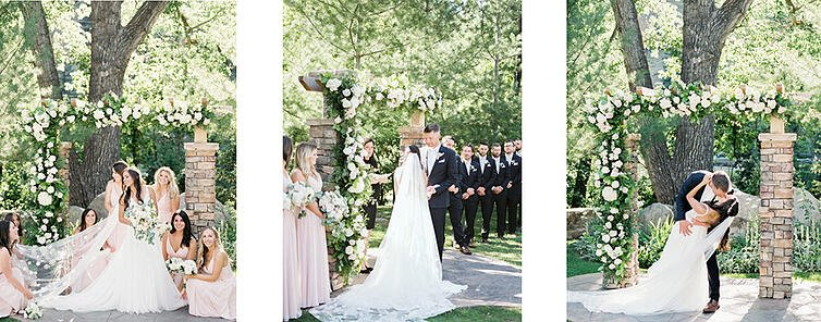 Boulder Creek by Wedgewood Weddings - Annie and Jakes Summer Ceremony 2019