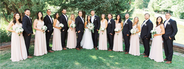 Summer Wedding Party - all about contrasts