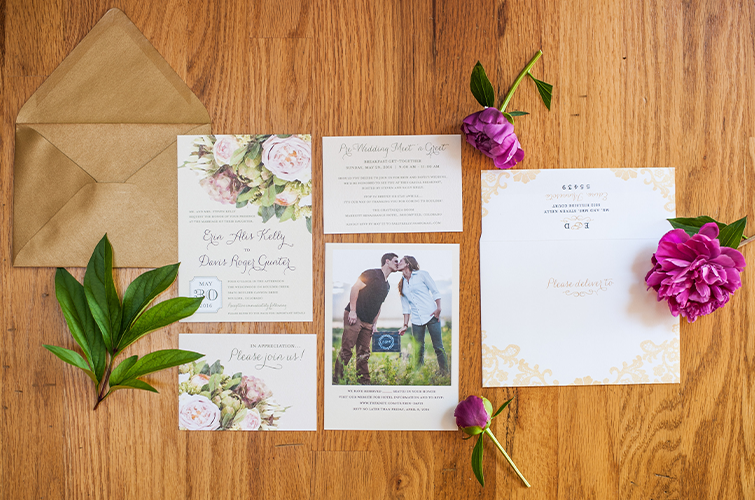 Do you remember what any of the invitations looked like from the weddings you've attended?