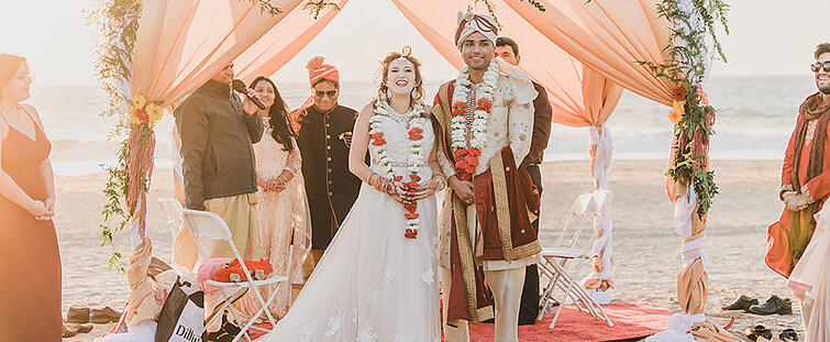 Briana and Shitij at Pacific View by Wedgewood Weddings