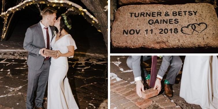 Custom Brick - Tapestry House - LaPorte, Colorado - Larimer County - Wedgewood Weddings
