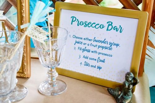 Bridal Shower - Prosecco Bar Sign - Wedgewood Weddings-2