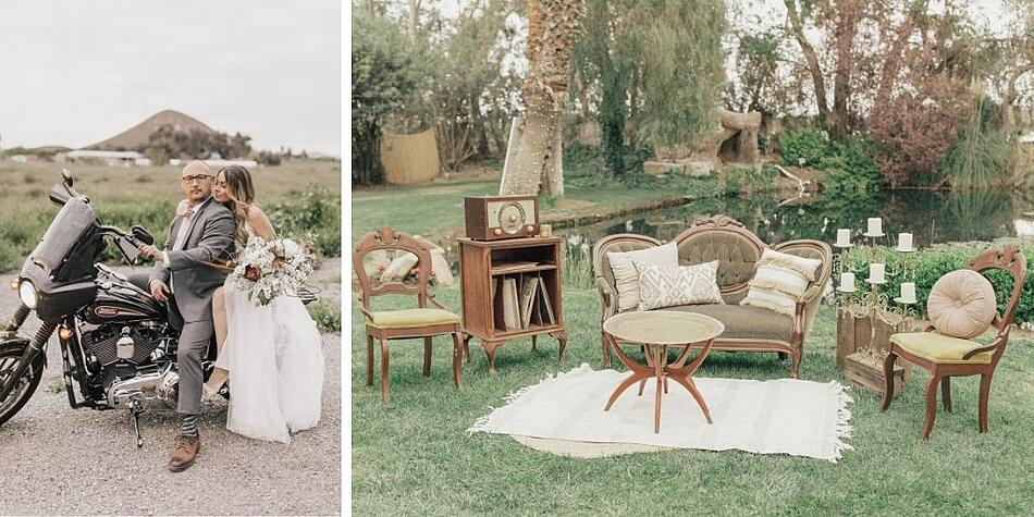 Bride and Groom - The Orchard - Menifee, California - Riverside County - Wedgewood Weddings
