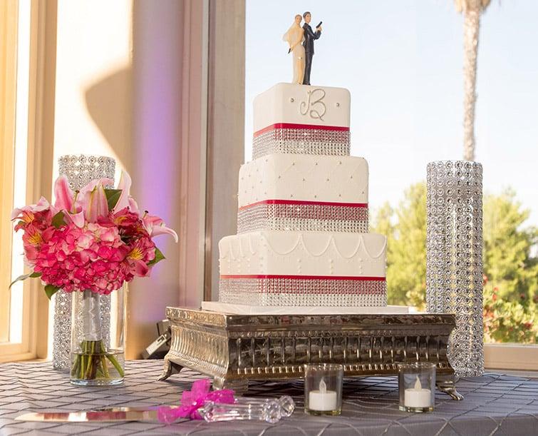 Brilliant Cake Topper - Wedgewood Weddings
