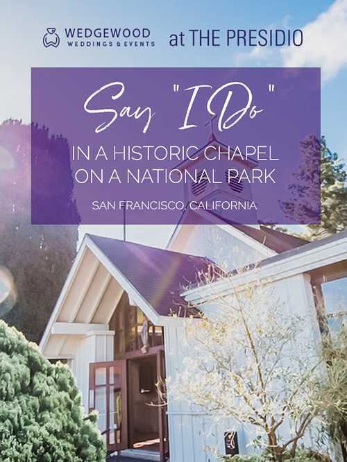 Chapel of Our Lady is a charming chapel with a rich, historic background. A beautiful traditional exterior complemented by a modern interior with stunning views of the scenic area. This chapel is a highly sought-after ceremony site in San Francisco...