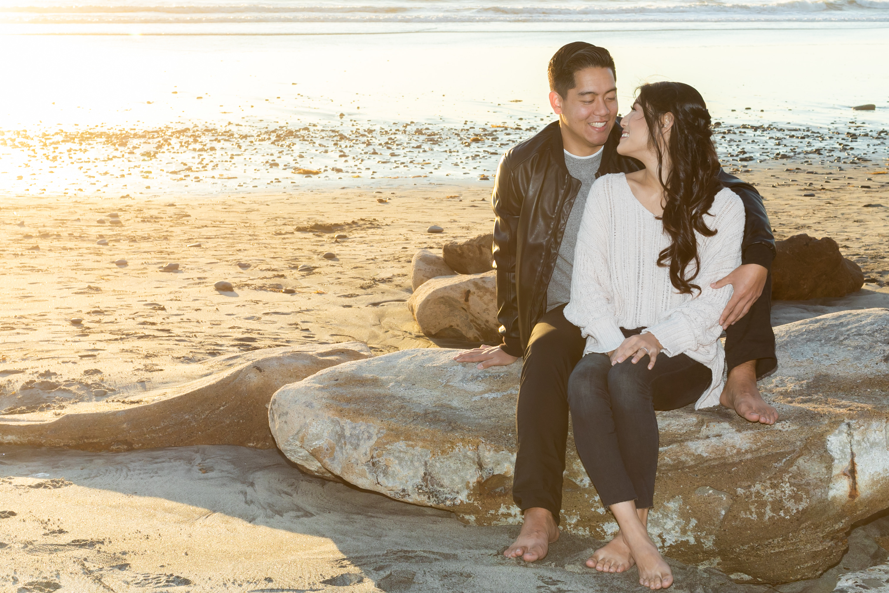 Engagement shoot at The Carlsbad Windmill by Wedgewood Weddings