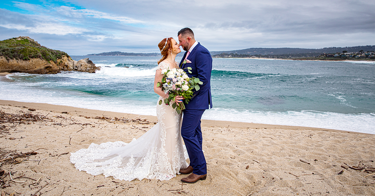Carmel Fields: Beach Wedding in Central California