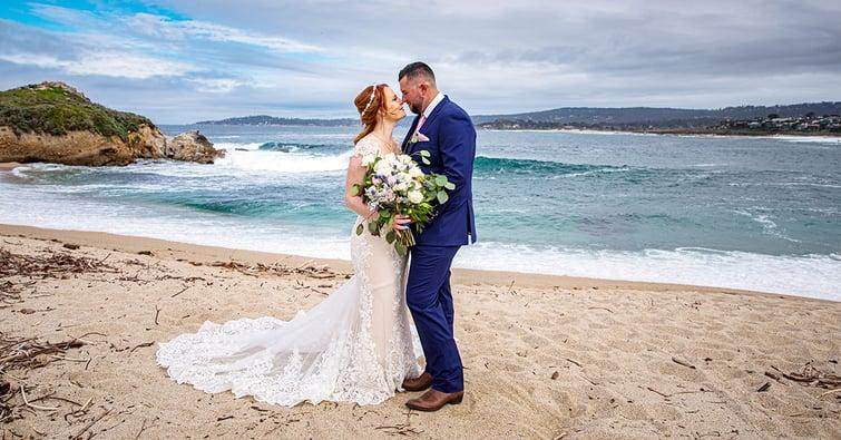 Beautiful Beach Wedding at Carmel by Wedgewood Weddings