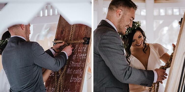 A Cord of Three Strands Ceremony - Tapestry House - LaPorte, Colorado - Larimer County - Wedgewood Weddings