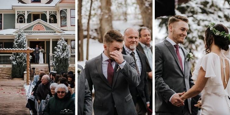 Ceremony - Tapestry House - LaPorte, Colorado - Larimer County - Wedgewood Weddings