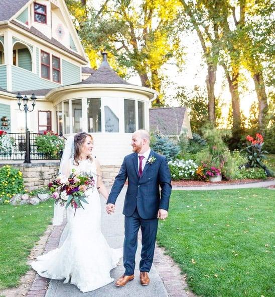 Chloe's September 2020 wedding at Tapestry House by Wedgewood Weddings