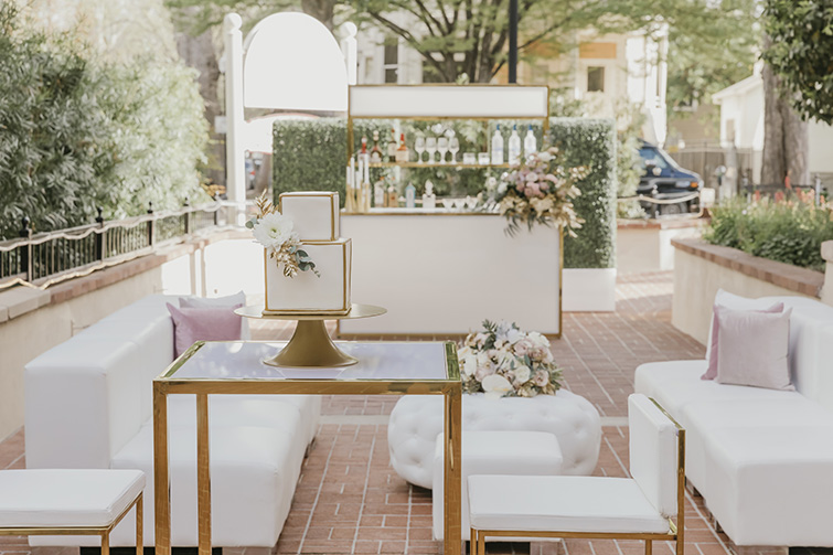 Cocktail Hour at Sterling Hotel by Wedgewood Weddings