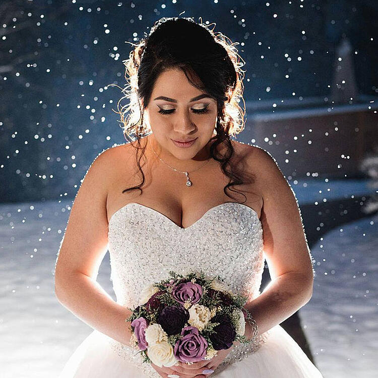 Colorado Winter by Wedgewood Weddings