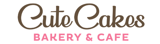 Cute Cakes Bakery & Cafe Logo