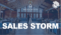 Sales Storm by Julia Henning, VP Sales at Wedgewood Weddings