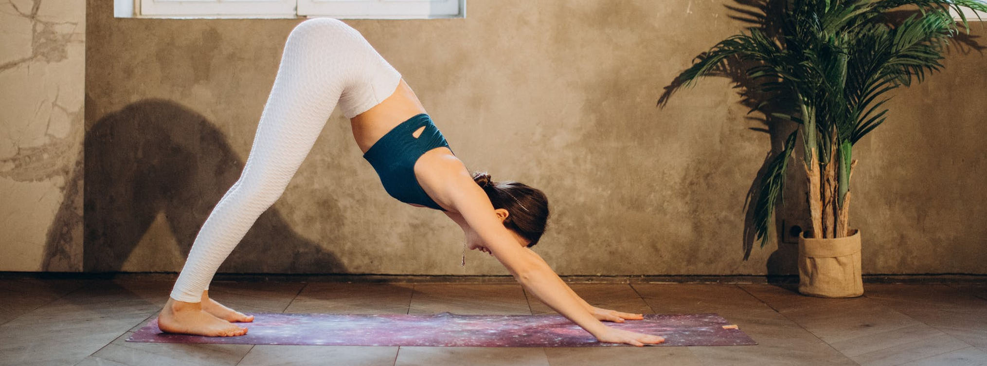 Downward dog: new moon yoga practise
