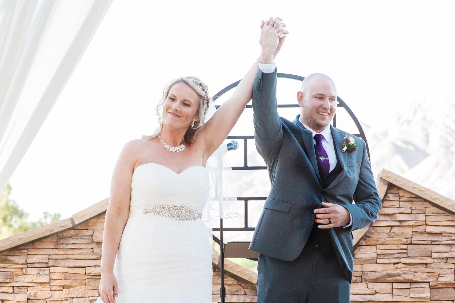 Elegant Las Vegas Wedding at Stallion Mountain by Wedgewood Weddings