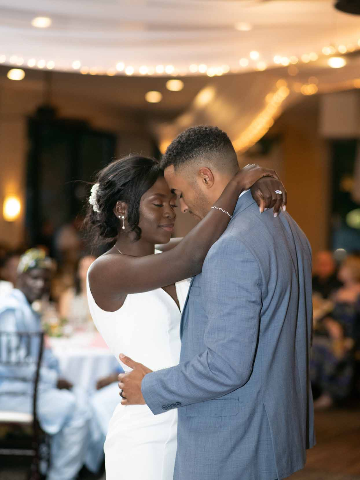 Enyo & Etienne Share a Romantic First Dance at Palm Valley, AZ