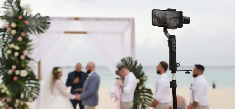 EventLive.pro's livestreaming platform was designed specifically for weddings