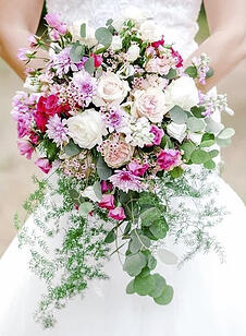 Example Bridal Bouquet - Camino Flower Shop