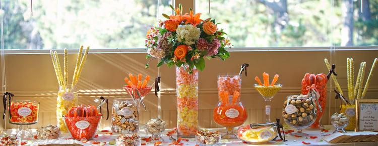 Fall Wedding Candy